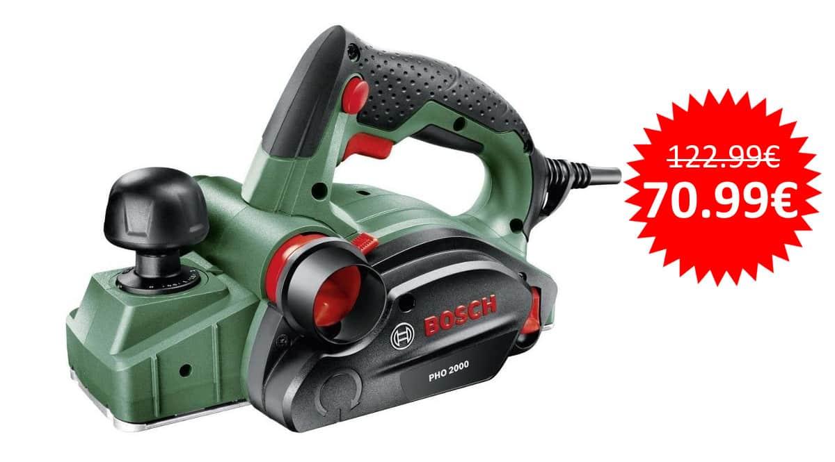 ¡¡Chollo!! Cepillo eléctrico Bosch PHO 2000 sólo 70.99 euros. Ahórrate 52 euros.