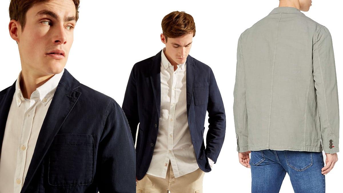 Chaqueta americana Hackett London barata, ropa de marca barata, ofertas en chaquetas chollo