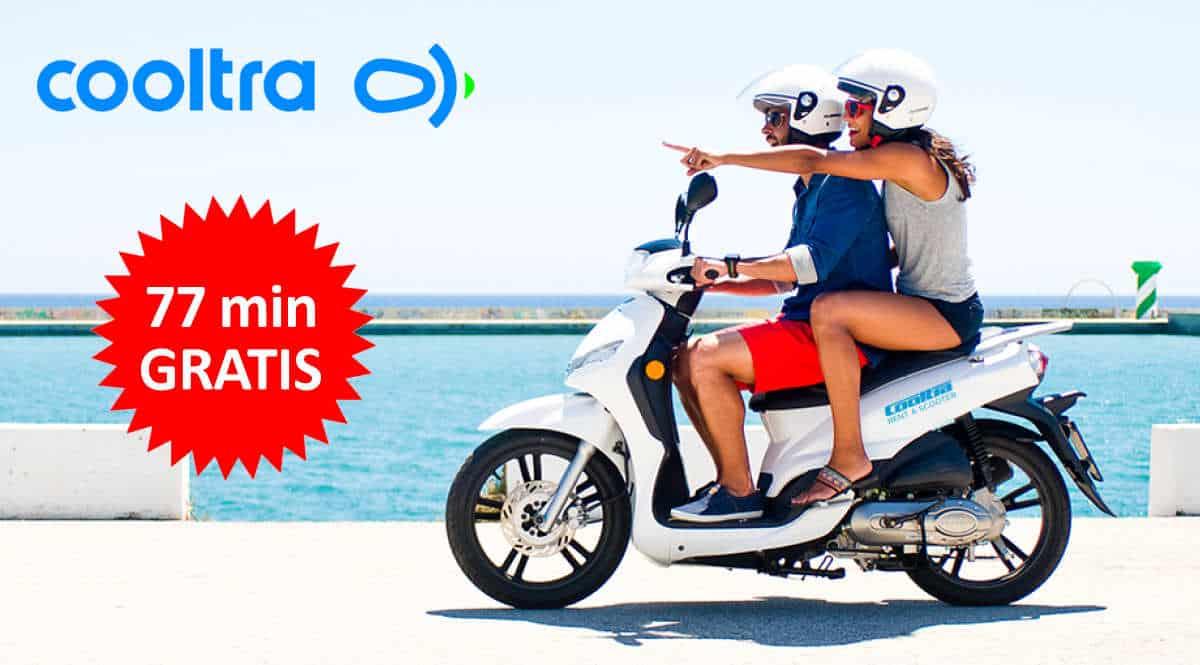 Código descuento Cooltra, alquiler de motos barato, ofertas en alquiler de motos, chollo