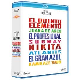 Colección 8 películas de Luc Besson en Blu-ray baratas, películas en Blu-ray baratas