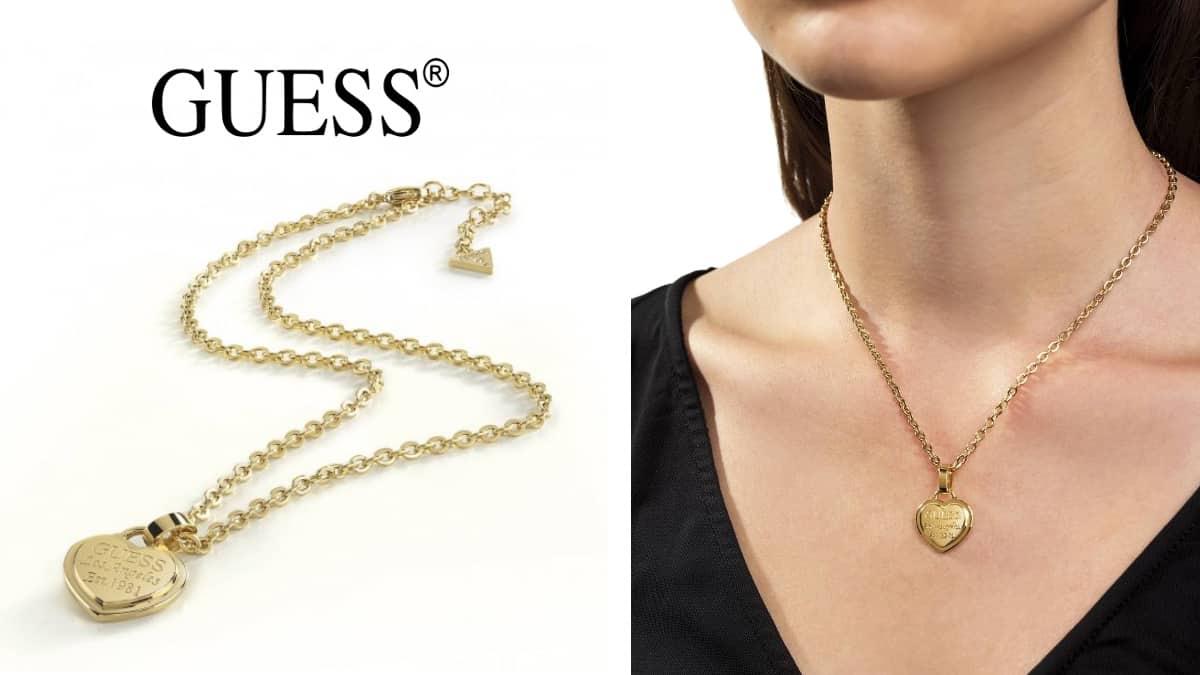 Collar Guess UBN28012 barato, artículos de joyería baratos, ofertas en regalos chollo