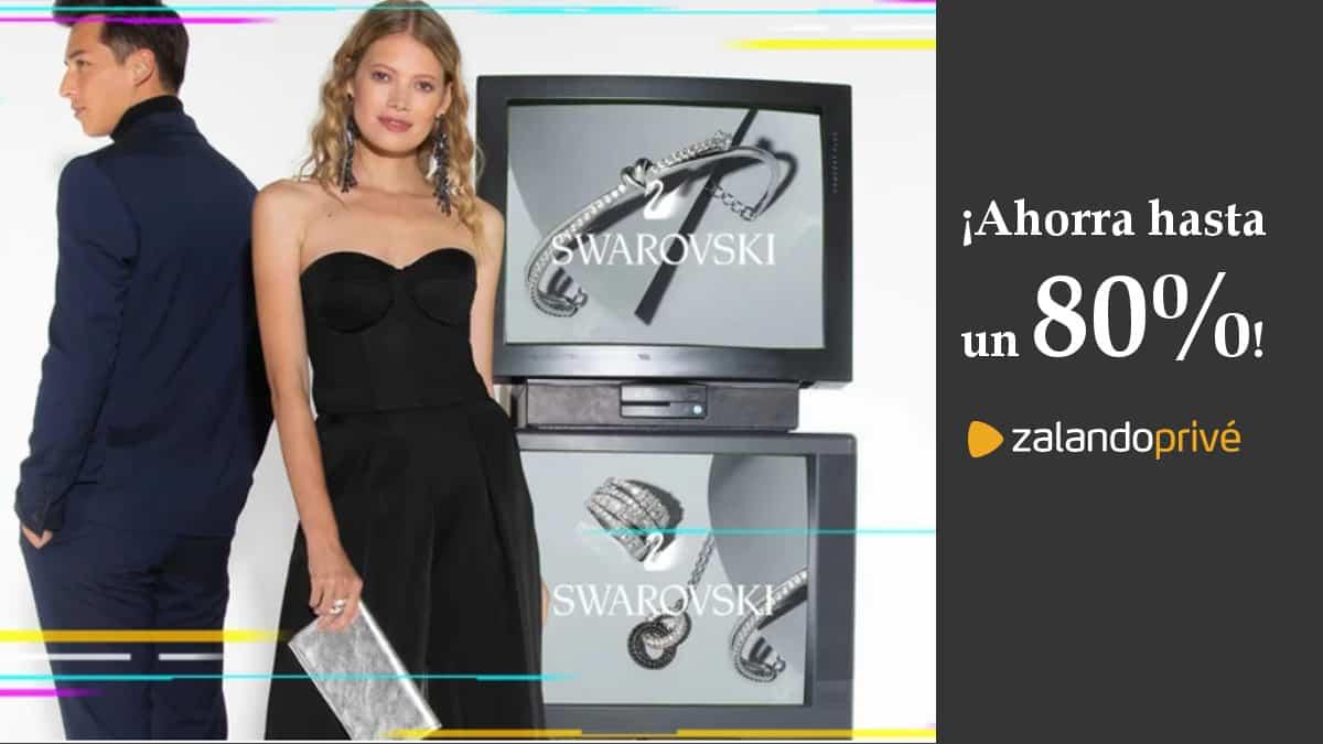 Consigue un toque de Glamour con Zalando Privé y Swarovski, descuentos en joyas, ofertas ropa, joyas y accesorios de primeras marcas, chollo