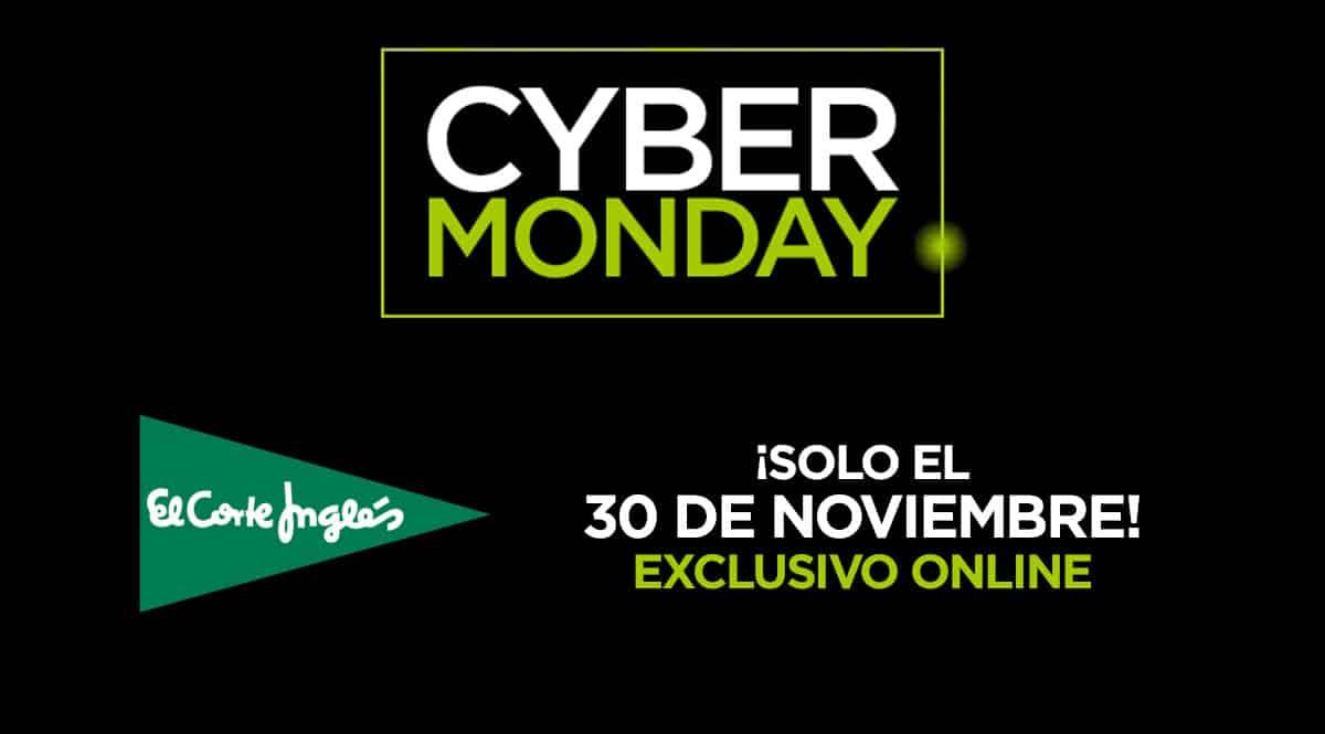 Cyber Monday 2020 El Corte Inglés, chollo