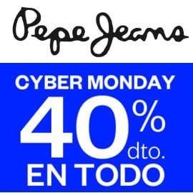 Cyber Monday Pepe Jeans, ropa de marca barata, ofertas en calzado de marca