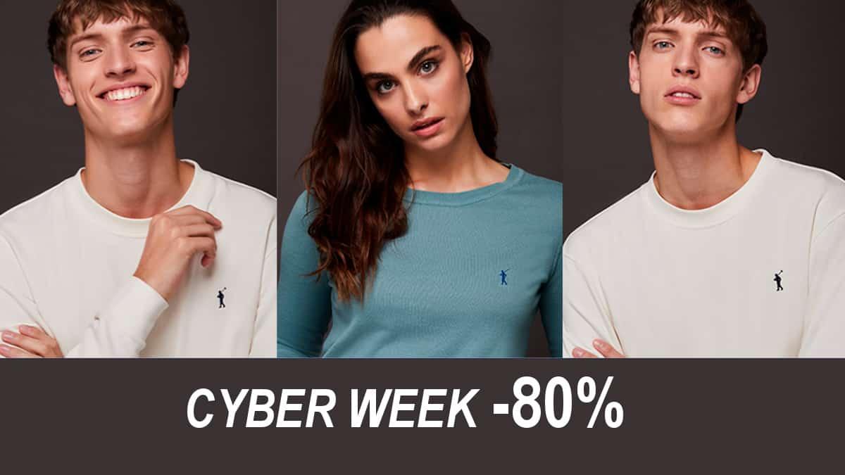 Cyber WeeK en Polo Club, ropa de marca barata, ofertas en ropa para hombre y mujer, CHOLLO