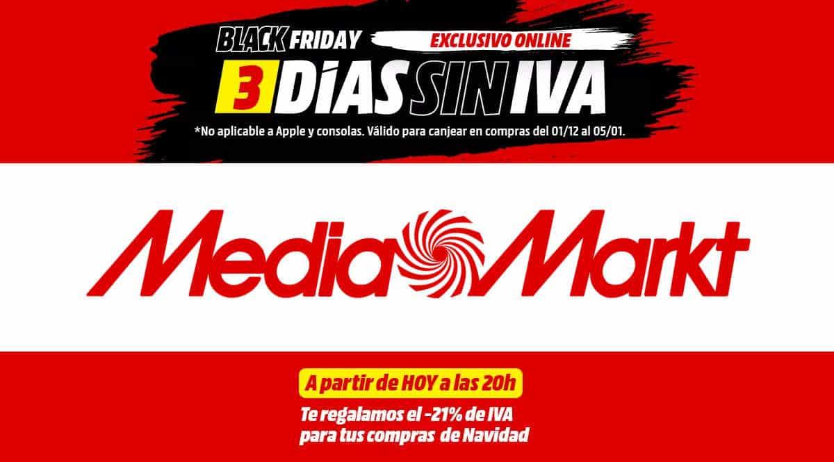 Día sin IVA MediaMarkt, chollo