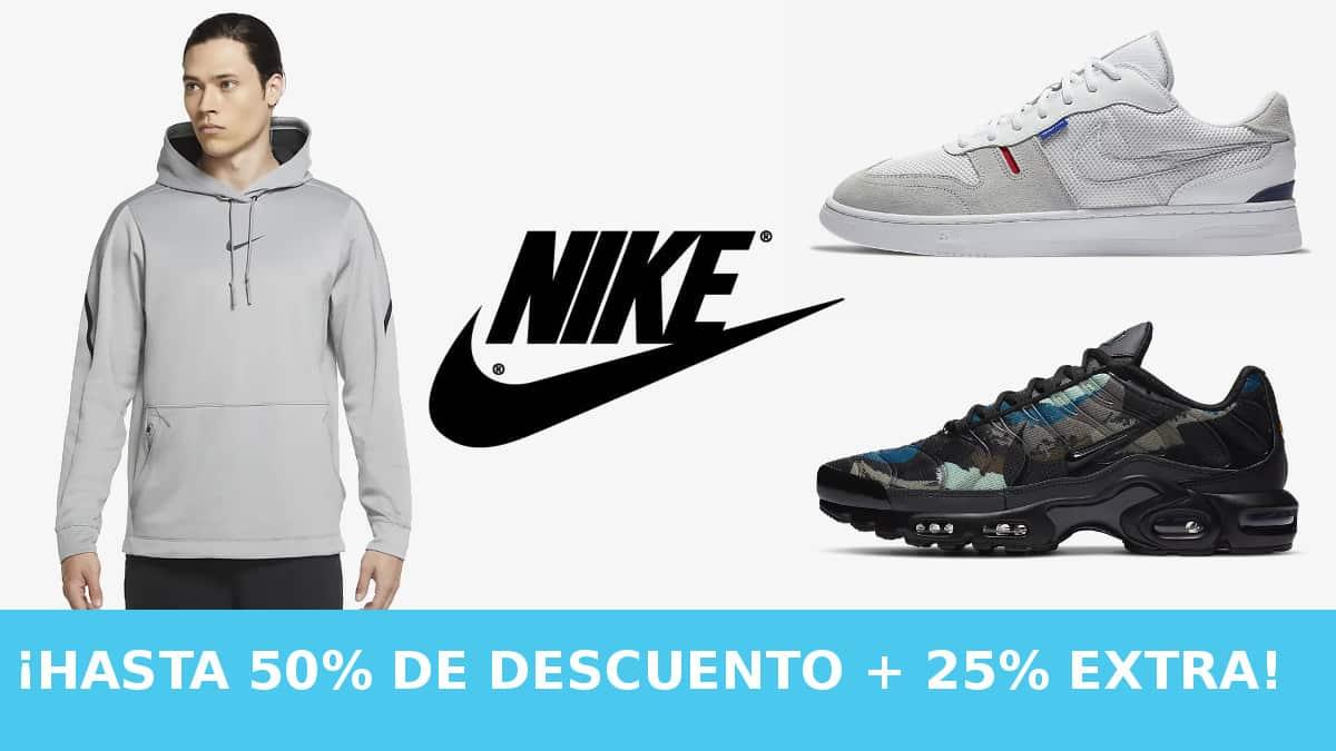 Descuentro EXTRA Nike Members barato, ropa de marca barata, ofertas en calzado chollo