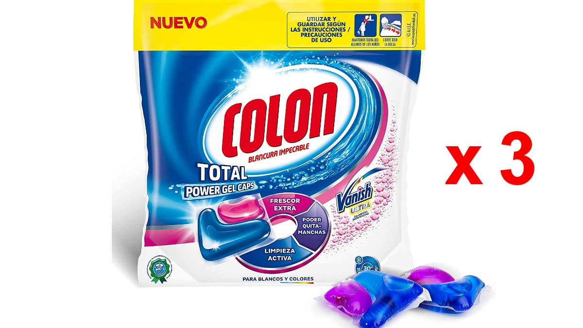 Detergente para la ropa Colon Vanish barato, detergentes baratos, ofertas supermercado, chollo