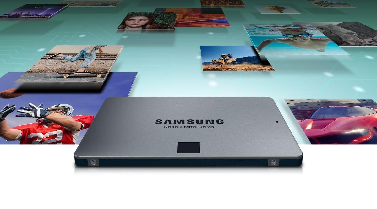 Disco SSD Samsung 870 QVO 2TB de capacidad barato. Ofertas en discos SSD, discos SSD baratos, chollo
