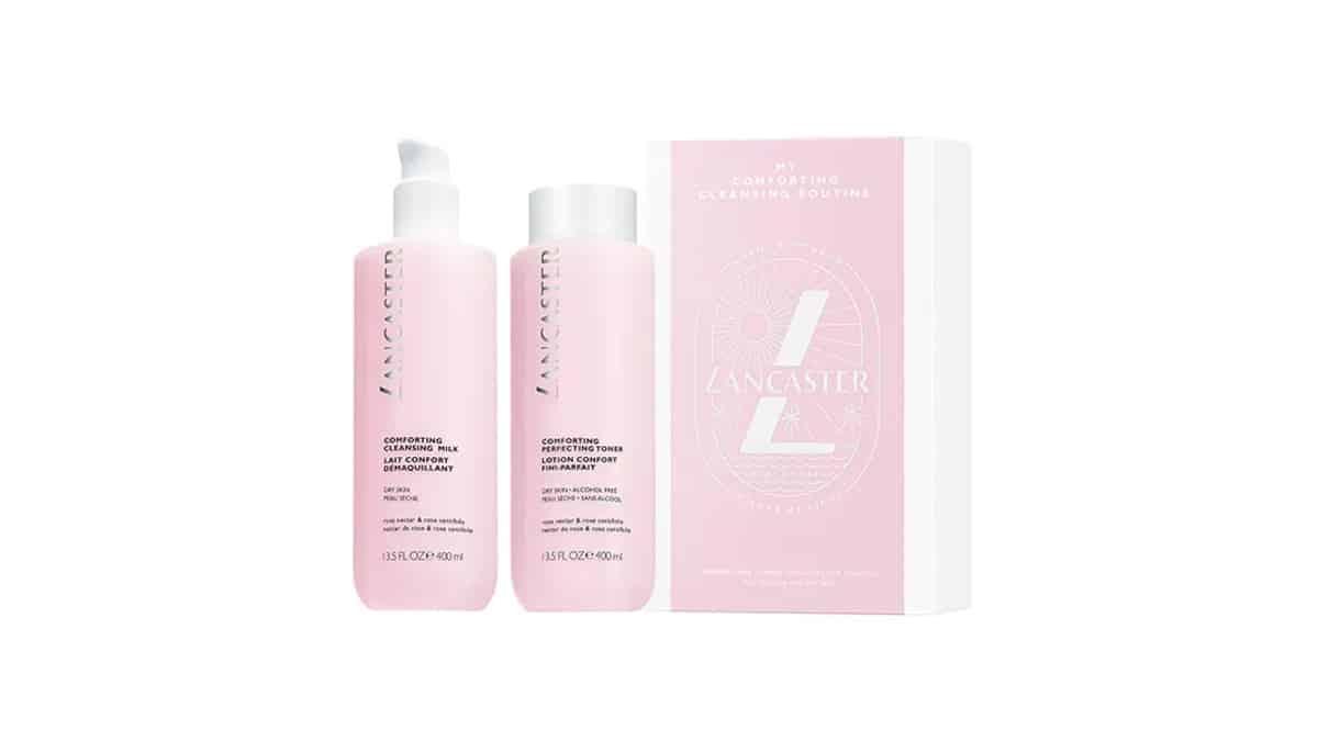 Duo limpieza confort de Lancaster barato, productos de limpieza facial baratos, ofertas belleza, chollo