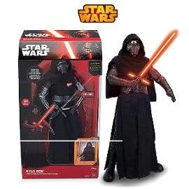 Figuras Star Wars, Darth Vader, Kylo Ren, C-3PO y Stormtrooper baratas, figuras Star Wars baratas