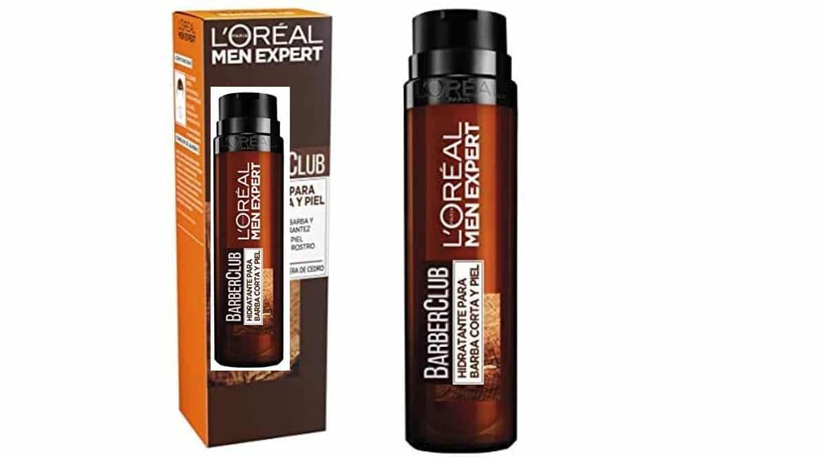 Gel hidratante L'Oréal Men Expert Barber Club barato, cremas de marca baratas, ofertas cuidado personal, chollo