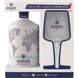 Ginebra Nordés + copa Nordesiño de regalo, ginebra barata, regalos baratos