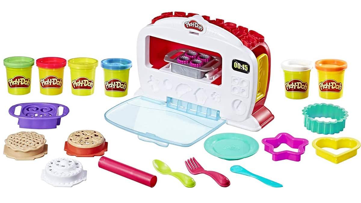 Horno mágico Play-Doh barato, juguetes baratos, ofertas para niños, chollo