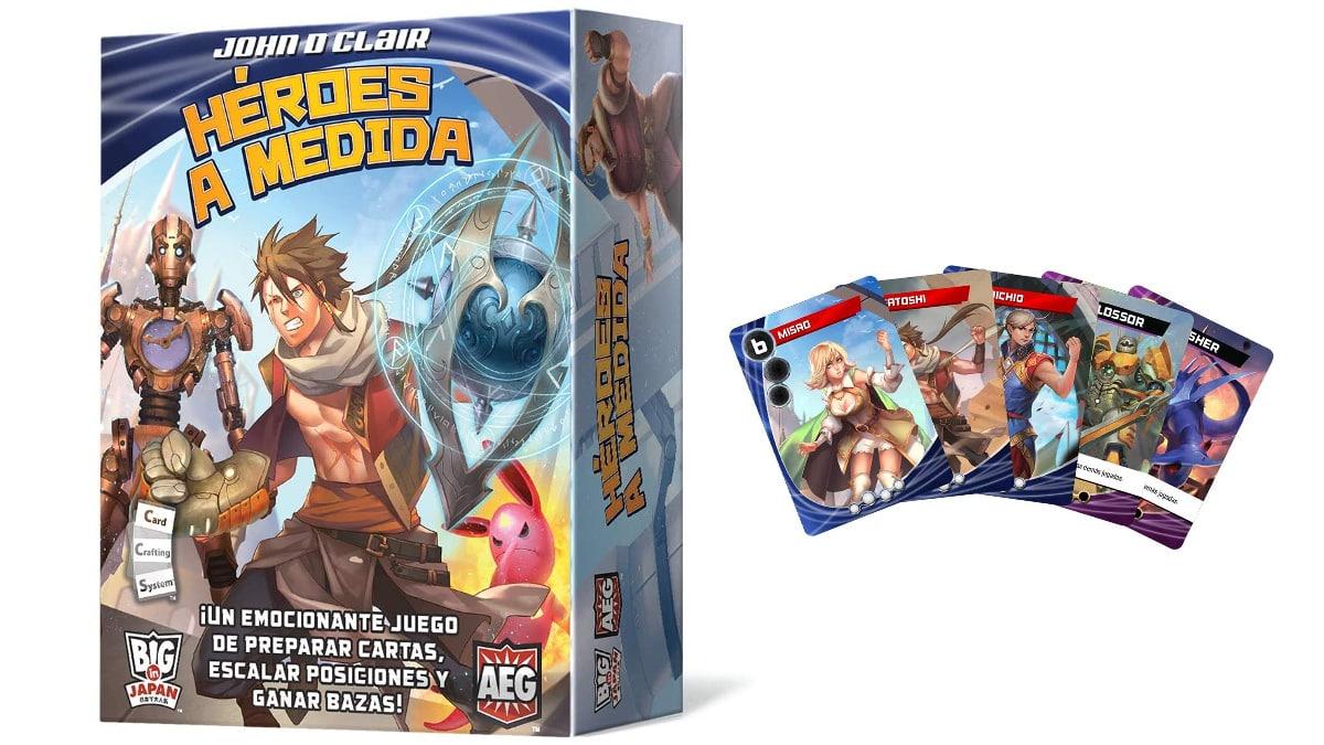 Juego de cartas Héroes A Medida barato, juegos baratos, ofertas en juegos de cartas chollo