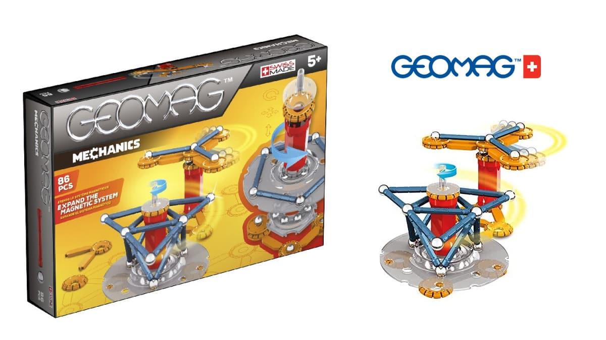 Juego de construcción Geomag Mechanics Motion barato, juguetes baratos, ofertas para niños chollo