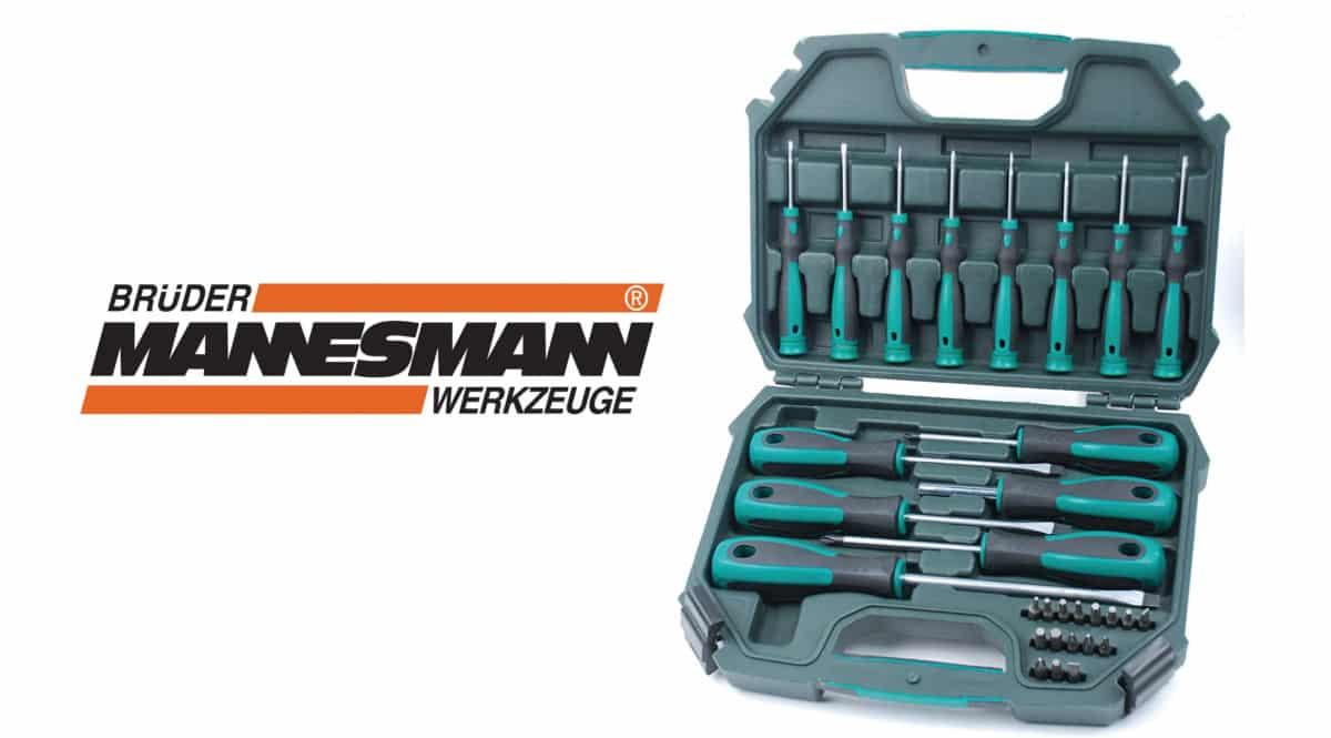 Juego de destornilladores Mannesmann M11850 barato. Ofertas en herramientas, herramientas baratas, chollo