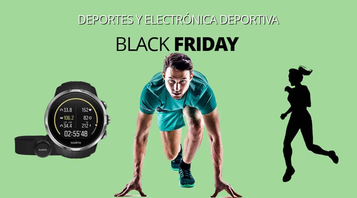 Los mejores chollos del Black Friday en deportes, material deportivo barato, ofertas en material deportivo, chollos 1200