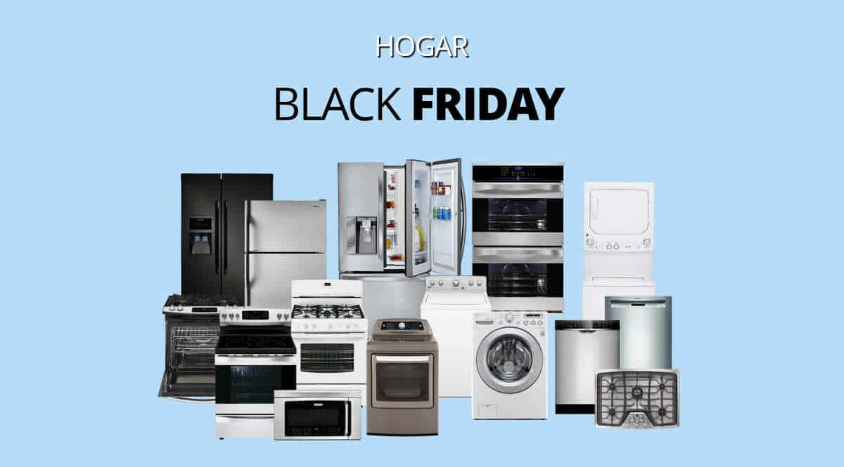Los mejores chollos del Black Friday en hogar, grandes electrodomésticos baratos, ofertas en menaje y hogar, chollo 1200