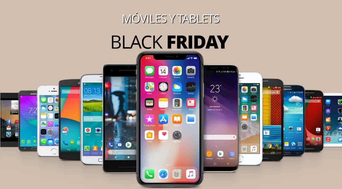 Los mejores chollos del Black Friday en móviles y tablets, móviles baratos, ofertas en móviles, chollo 1200