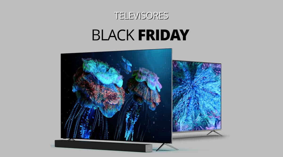 Los mejores chollos del Black Friday en televisores, televisores baratos, ofertas televisores, chollo 1200
