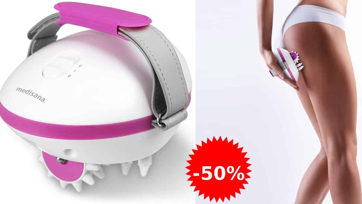 Masajeador para celulitis Medisana AC 850 barato, anticelulíticos de marca baratos, ofertas en belleza, chollo