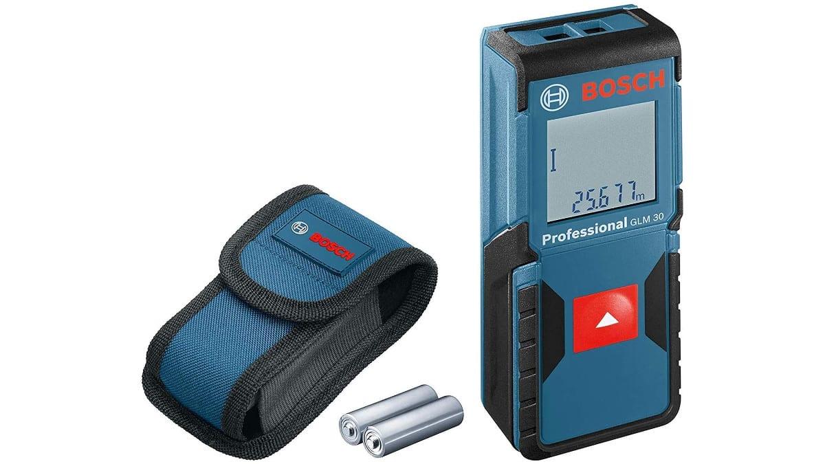Medidor láser de distancia Bosch Professional GLM 30 barato, herramientas baratos