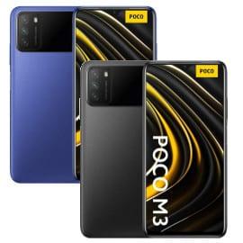 ¡Código descuento! Móvil Xiaomi POCO M3 6.53″ desde sólo 95 euros. Te ahorras hasta 65 euros. En azul y en negro.