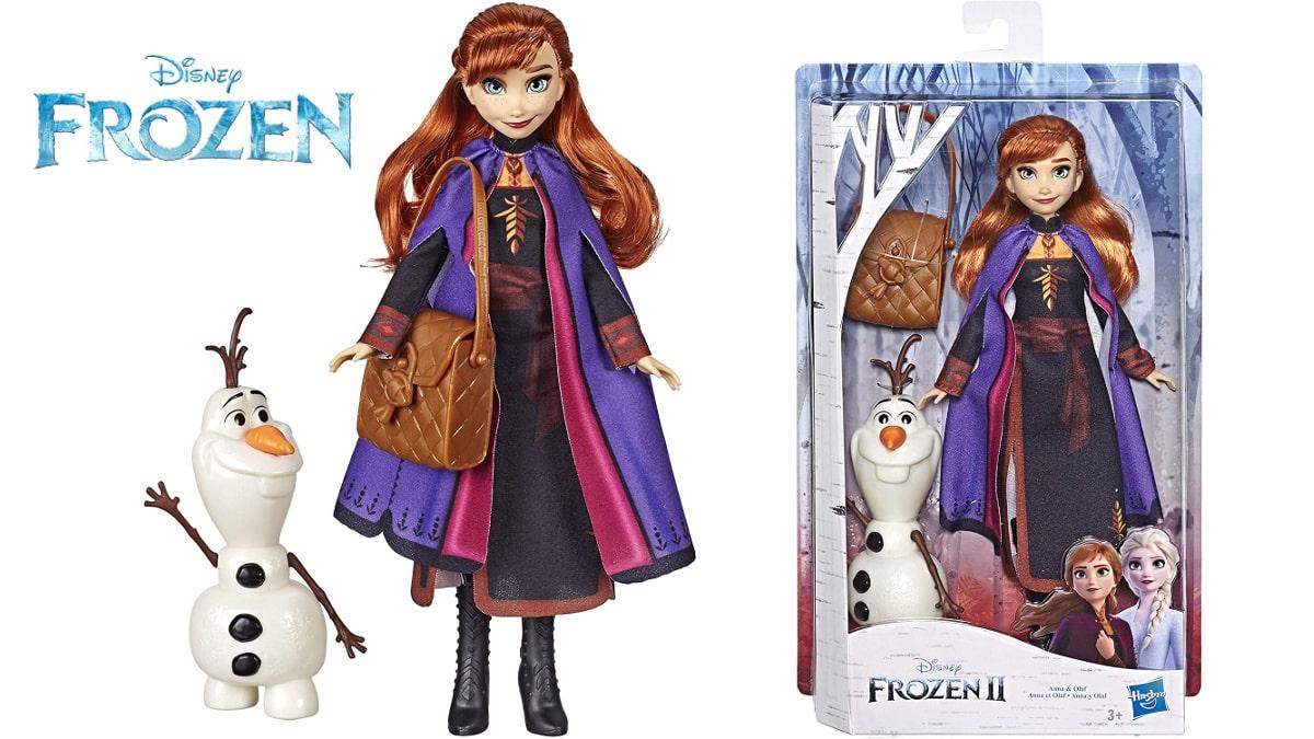 Muñecos Anna y Olaf de Frozen 2 baratos, juguetes baratos, ofertas en regalos de navidad chollo