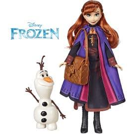 Muñecos Anna y Olaf de Frozen 2 baratos, juguetes baratos, ofertas en regalos de navidad