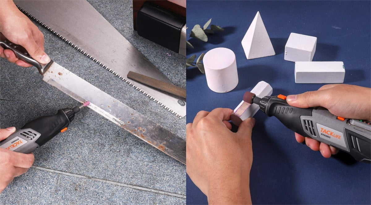 Multiherramienta Tacklife con 31 accesorios barata. Ofertas en herramientas, herramientas baratas, chollo