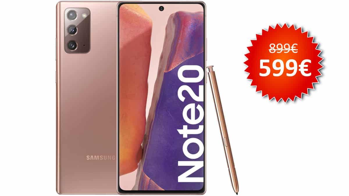 Móvil Samsung Galaxy Note20 barato, móviles baratos, chollo