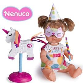 Nenuco piñata fiesta de cumpleaños barato, muñecos baratos, ofertas para niños