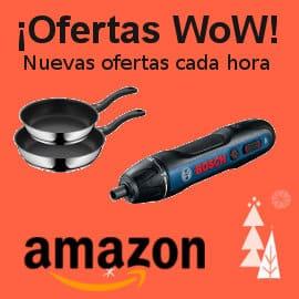 Ofertas WoW en Amazon, ofertas Black Friday, artículos para el hogar, juguetes, herramientas, baratas