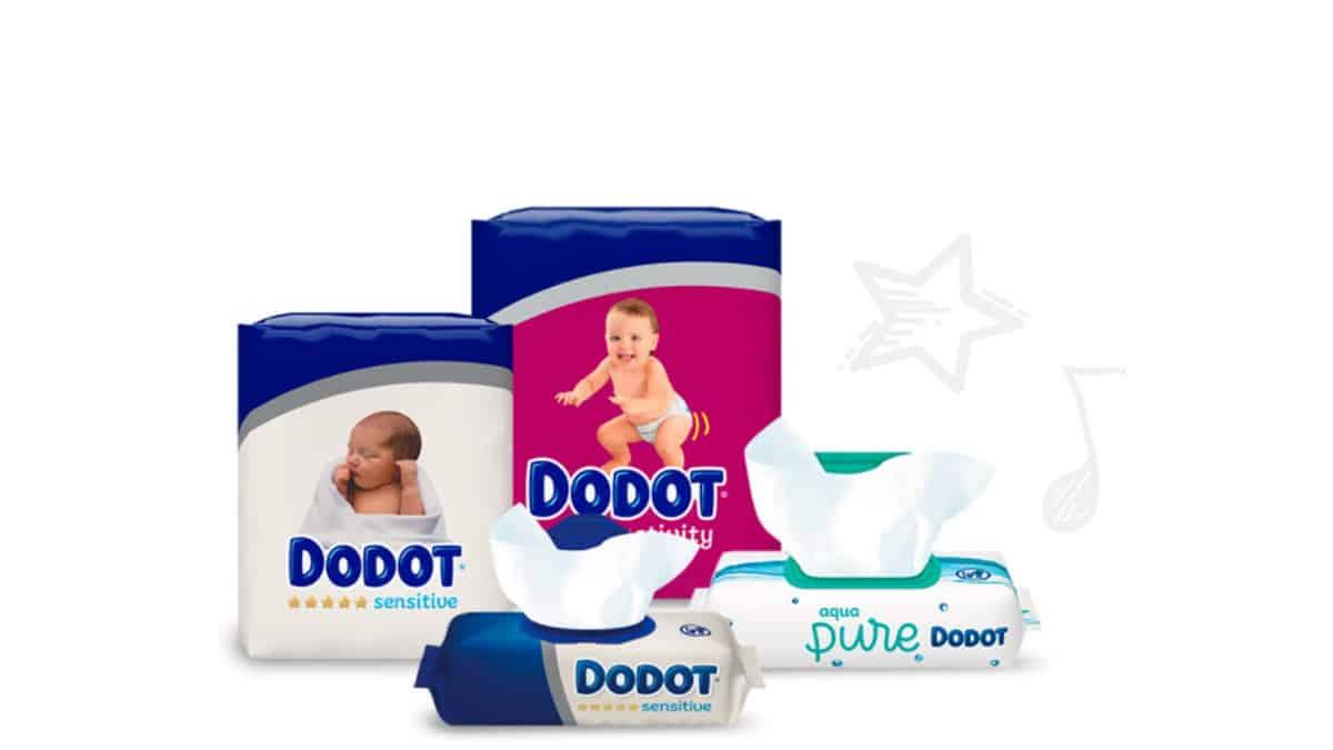 Pañales y toallitas Dodot baratos,productos para bebé baratos, ofertas supermercado, chollo