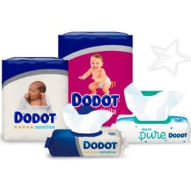 Pañales y toallitas Dodot baratos,productos para bebé baratos, ofertas supermercado