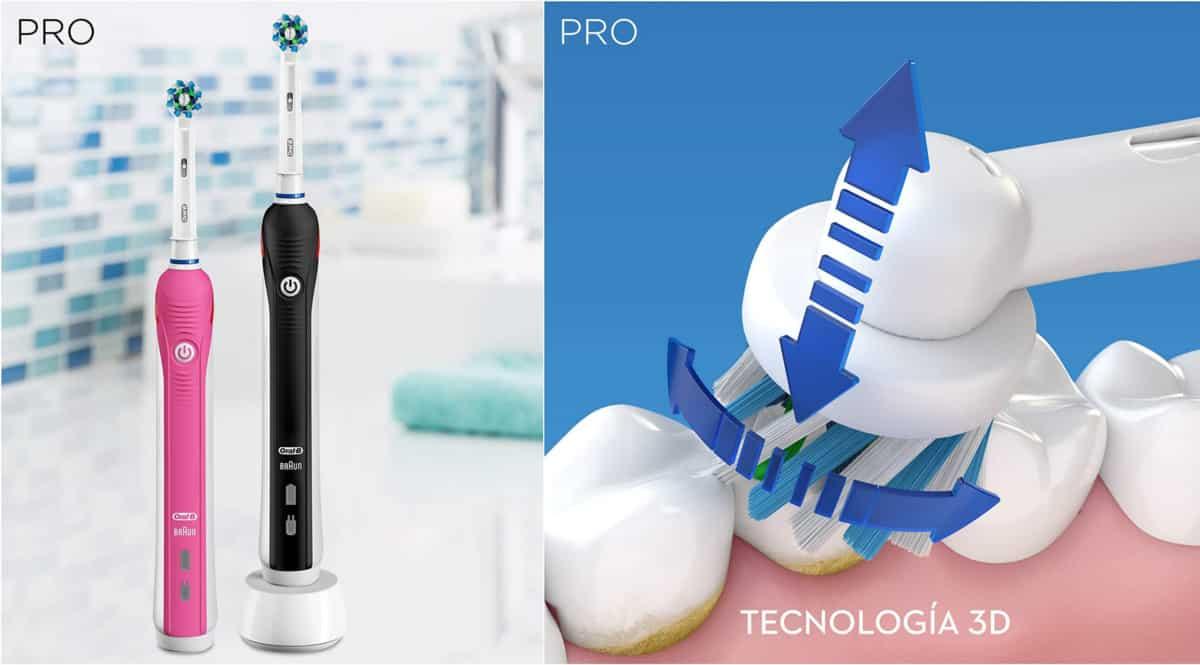 Pack cepillos de dientes eléctricos Oral-B Pro 2950 N baratos. Ofertas en cepillos de dientes eléctricos, cepillos de dientes eléctricos baratos, chollo