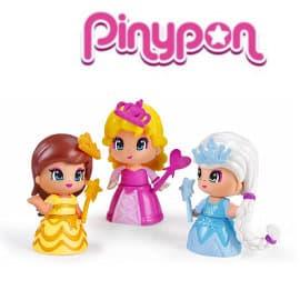 ! Pack de 3 princesas Pinypon barato, juguetes baratos, ofertas para niños