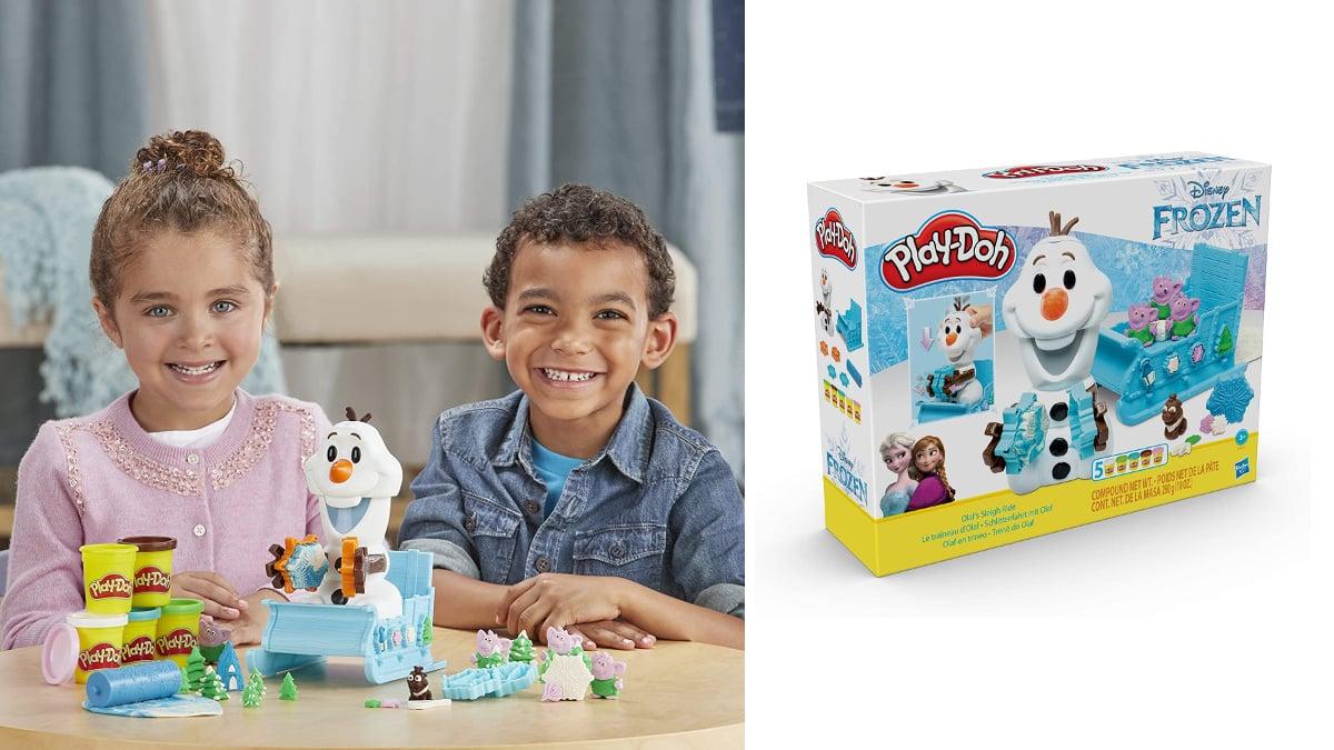 Play-Doh - Olaf En Trineo barato, juguetes baratos, ofertas para niños, chollo
