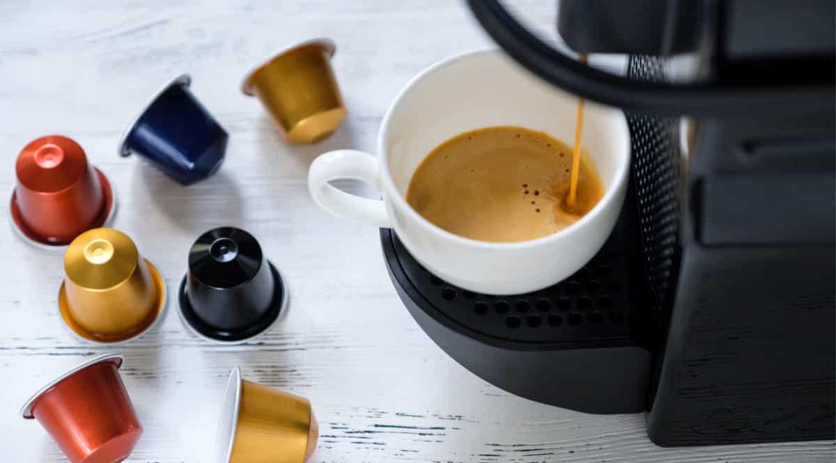 Promoción 3x2 en cápsulas de café Nespresso y Dolce Gusto. Ofertas en supermercado, chollo