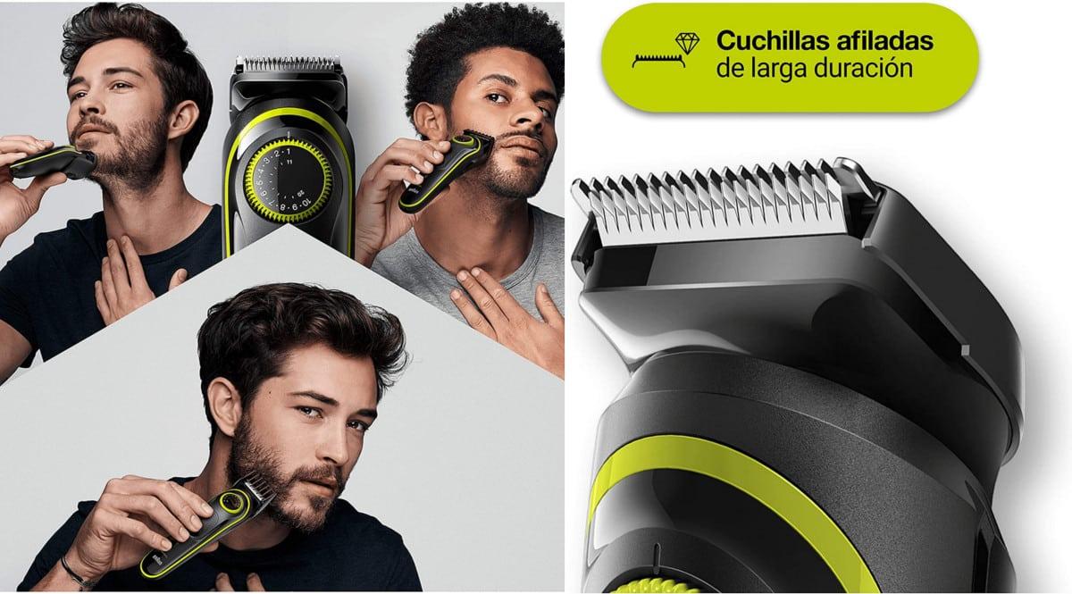 Recortadora de barba Braun BT3241 barata. Ofertas en recortadoras, recortadoras baratas, chollo