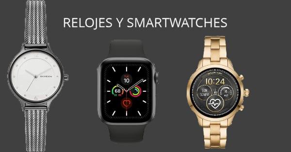 Relojes y smartwatches Black Friday baratos, relojes baratos, ofertas en relojes chollo