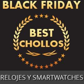 Relojes y smartwatches Black Friday baratos, relojes baratos, ofertas en relojes