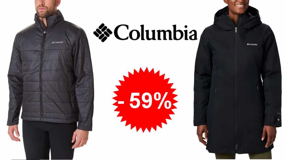 Ropa de abrigo Columbia barata, abrigos y forros polares para hombre, mujer y niño baratos, ofertas en ropa de marca, chollo