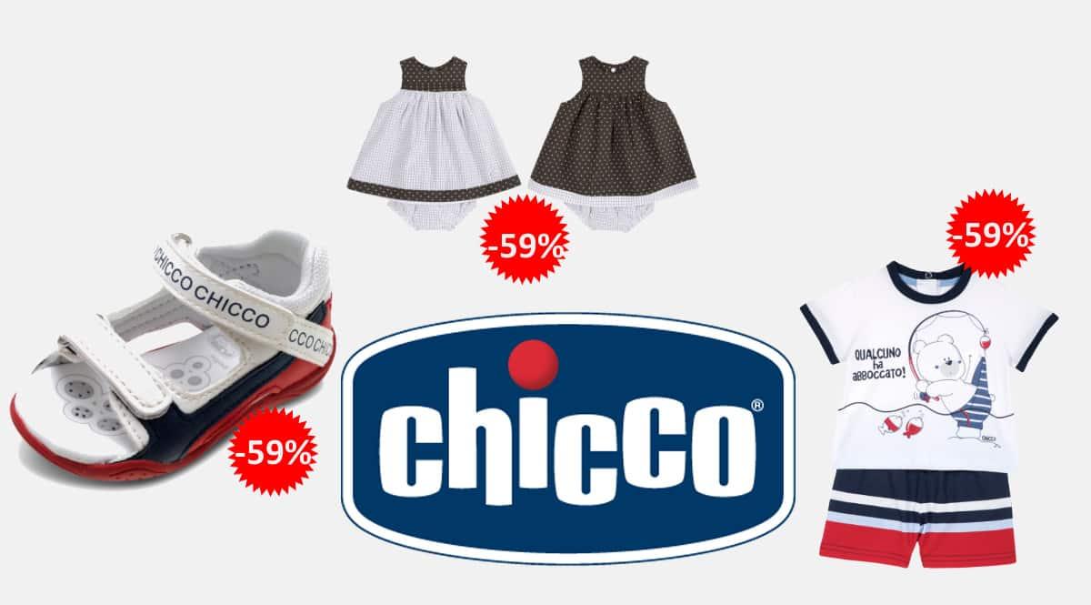 Ropa y calzado Chicco para niño, ropa de marca barata para niño, ofertas en ropa y calzado, chollo
