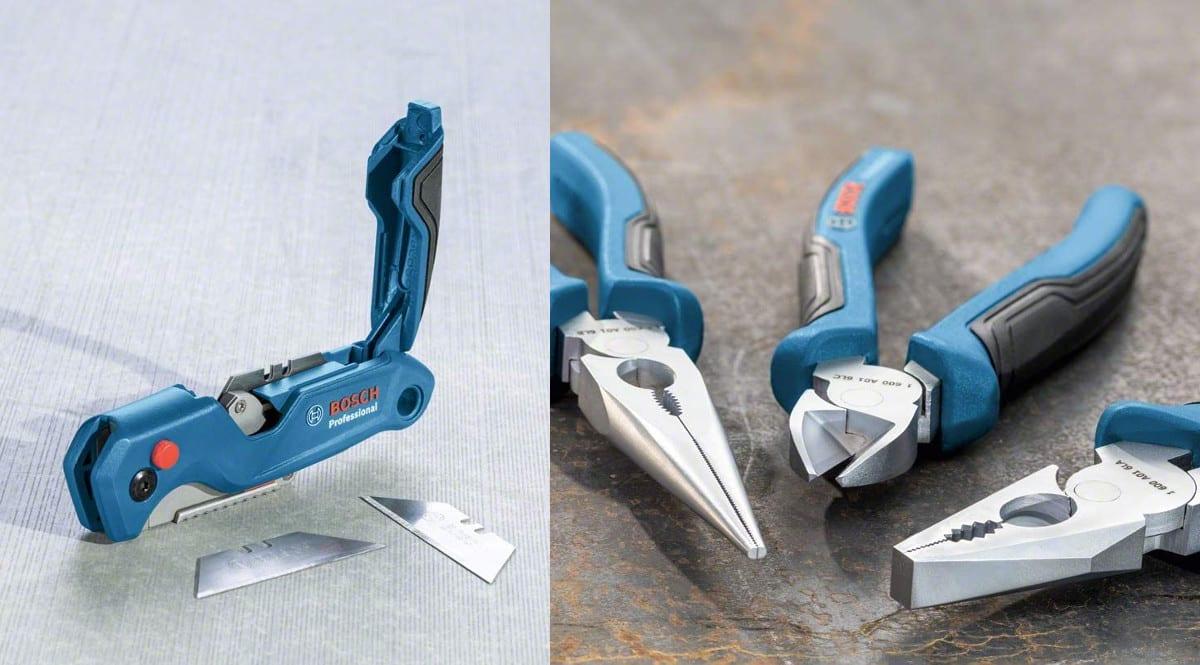 Set de 40 herramientas manuales Bosch Professional barato. Ofertas en herramientas, herramientas baratas, chollo