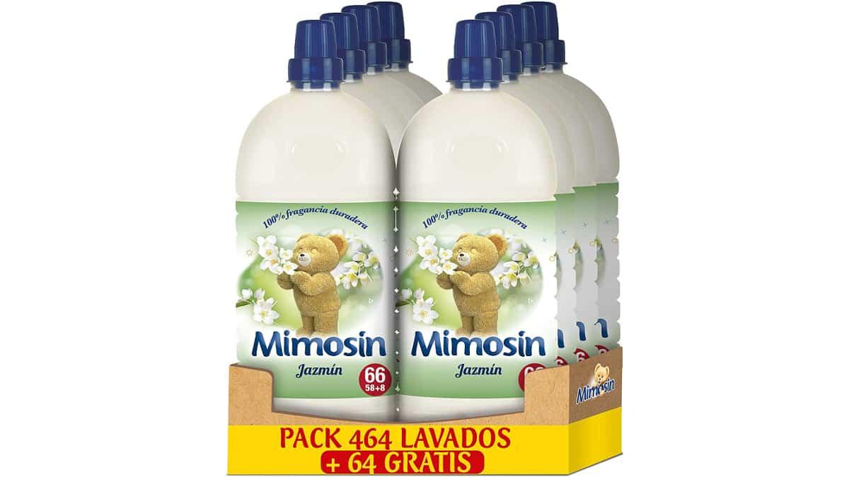 Suavizante Mimosín Concentrado Jazmín barato, suavizante para la ropa barato, ofertas supermercado, chollo