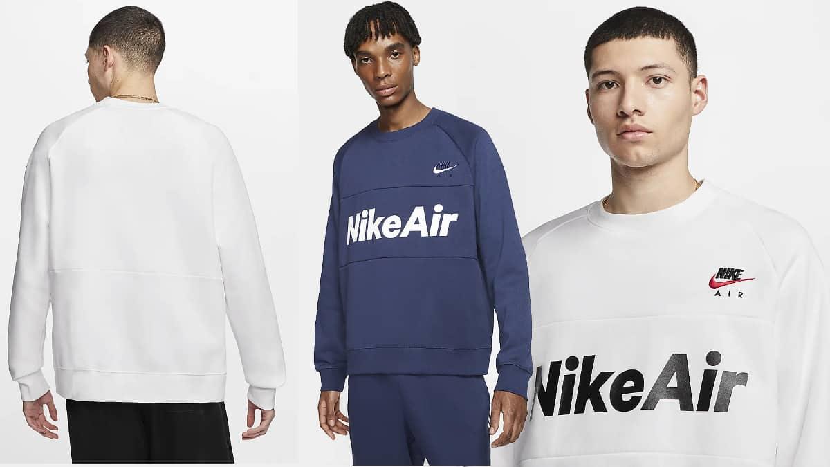 Sudadera Nike Air barata, ropa de marca barata, ofertas en sudaderas chollo