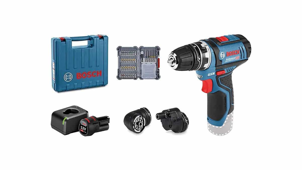 Taladro atornillador Bosch Professional GSR 12V-15 FC barato, herramientas baratas, chollo