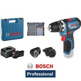 Taladro atornillador Bosch Professional GSR 12V-15 FC barato, herramientas baratas